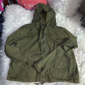 Brandy army green jacket